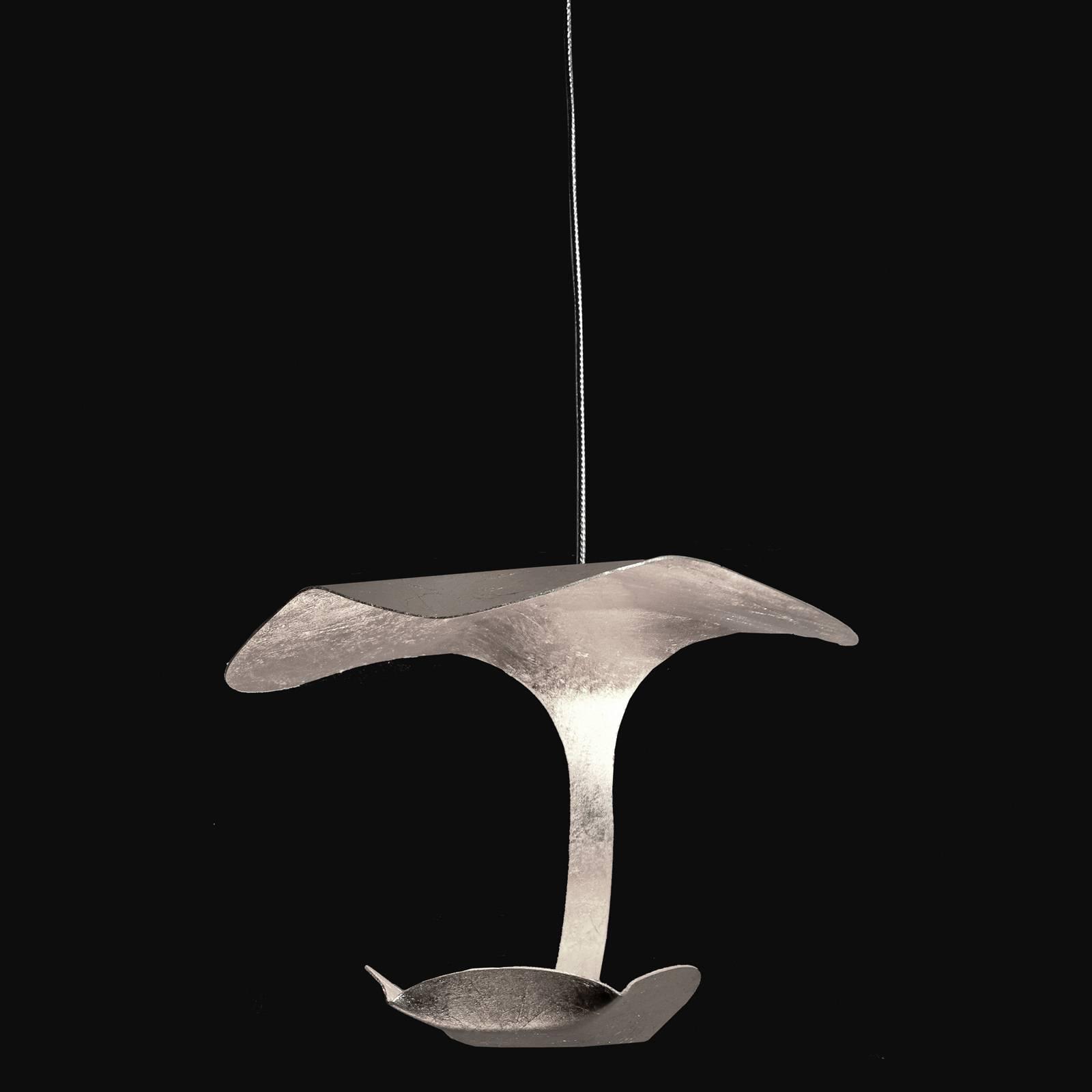 Knikerboker Le Gigine -LED-valo 1-lamp. hopea