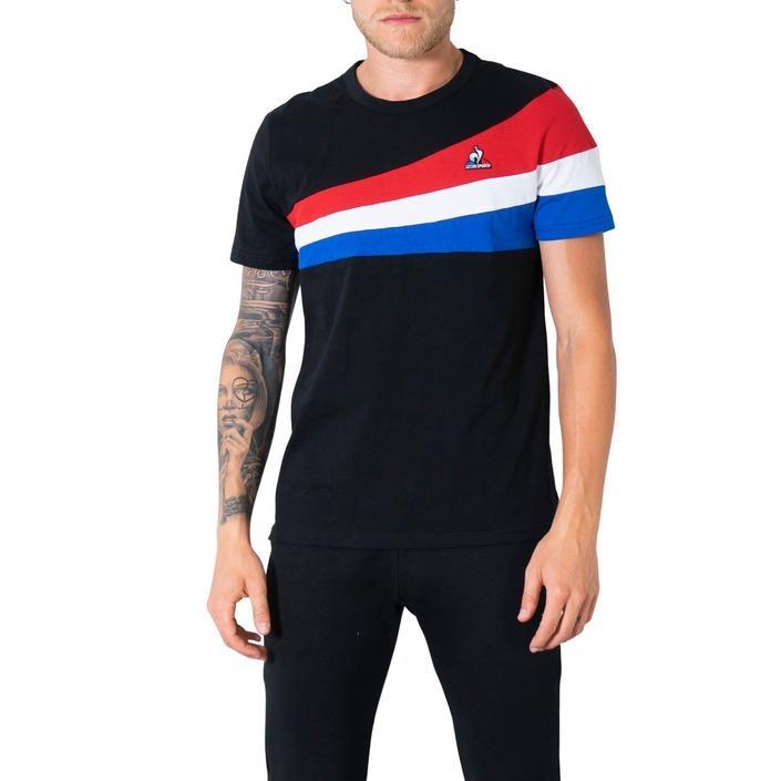 Le Coq Sportif Men's T-Shirt Various Colours 305040 - black XXL