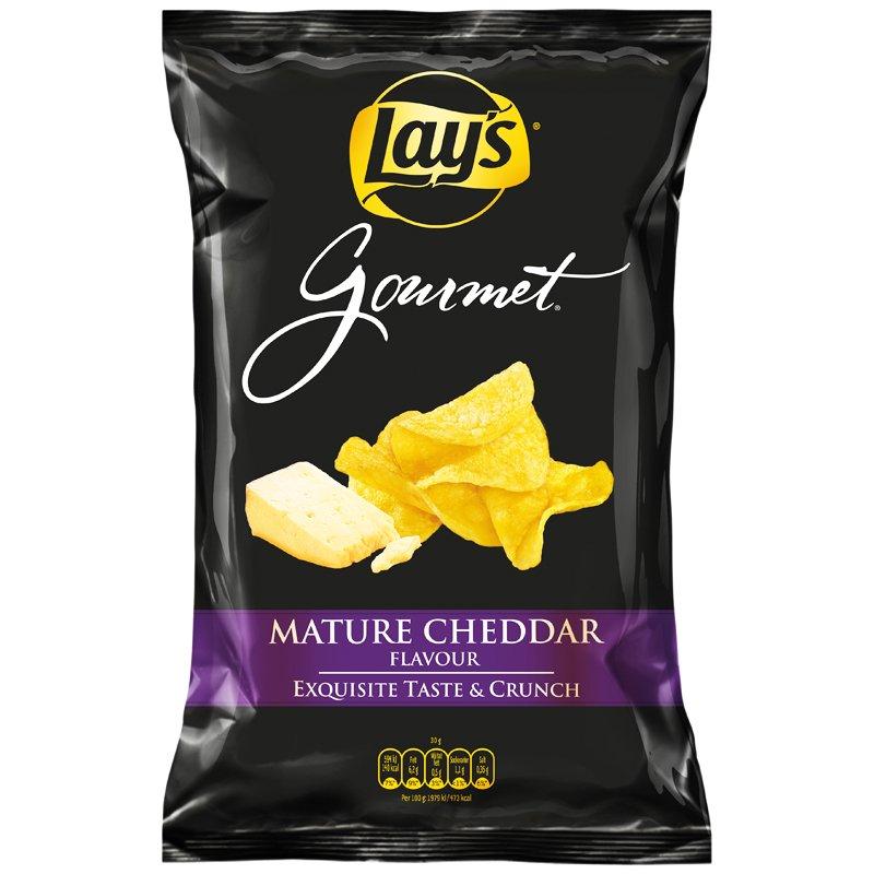 """Chips """"Mature Cheddar"""" 150g - 40% rabatt"""