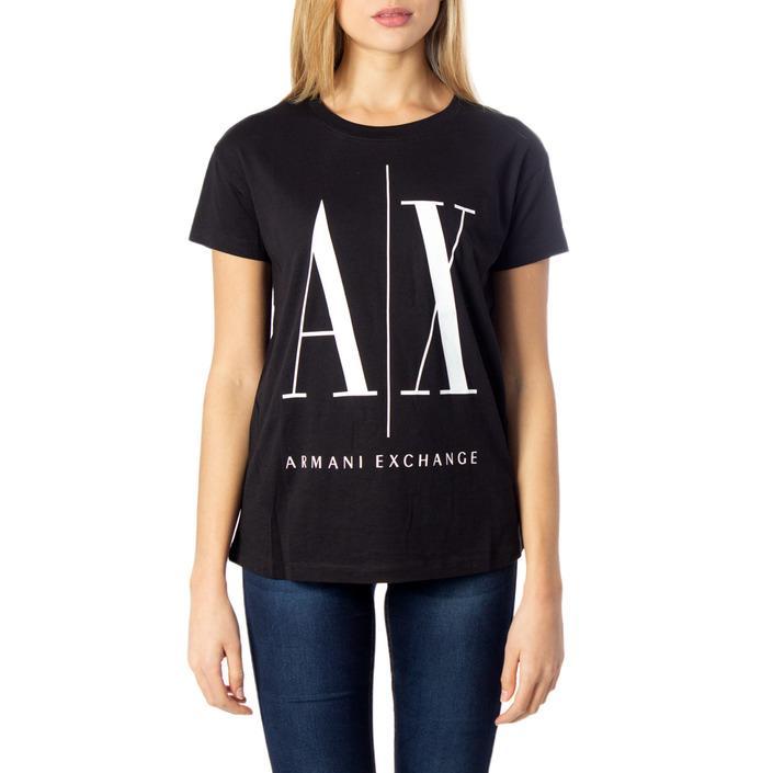 Armani Exchange Women's T-Shirt 169840 - black XS