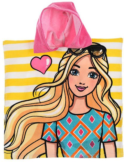 Barbie Badeponcho, Rosa