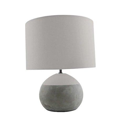 Silas Bordlampe Betong 35x28 cm