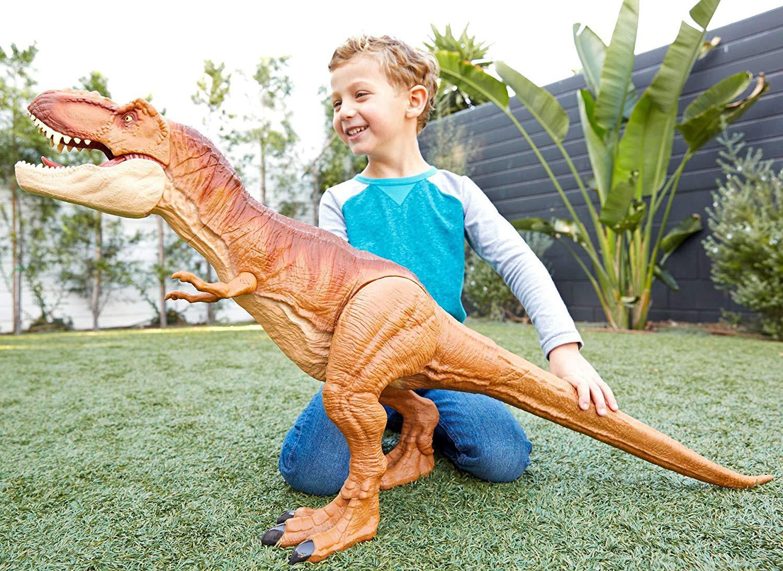 Jurassic World - Super Colossal T-Rex (90 cm) (FMM63)