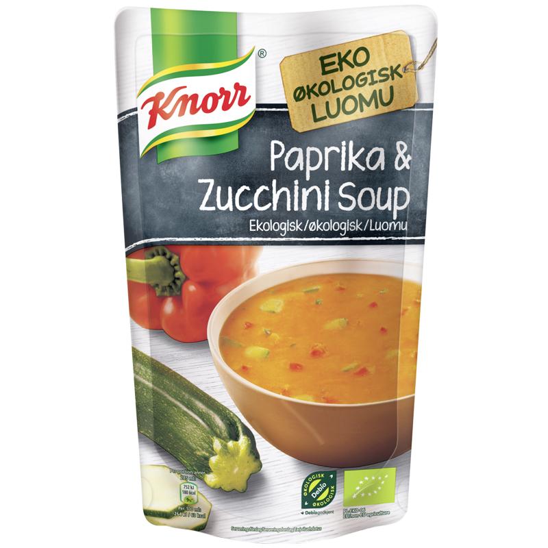 Eko Soppa Paprika & Zucchini 570ml - 37% rabatt
