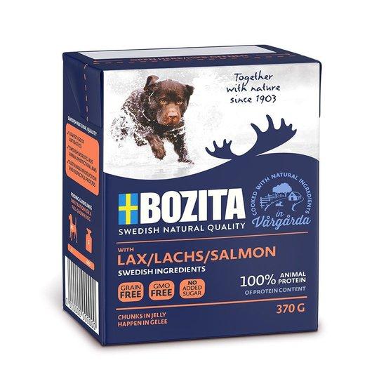 Bozita Hund Bitar i Gelé Lax 370 g