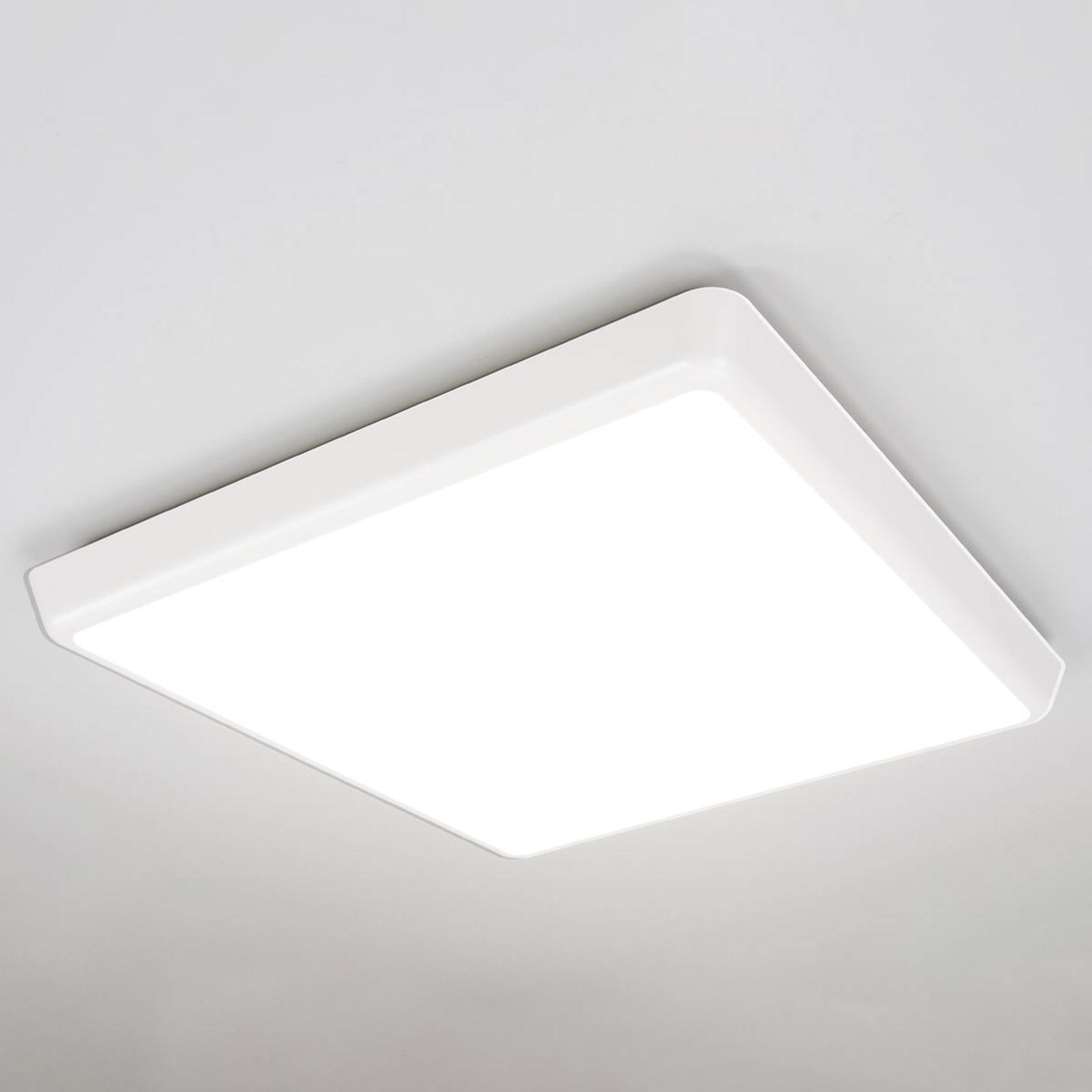 Hillitty LED-kattovalaisin Augustin, IP54, 40 cm