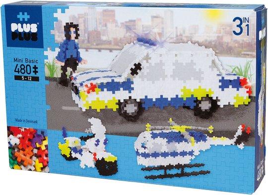 Plus-Plus 3in1 Police Basic 480 Biter
