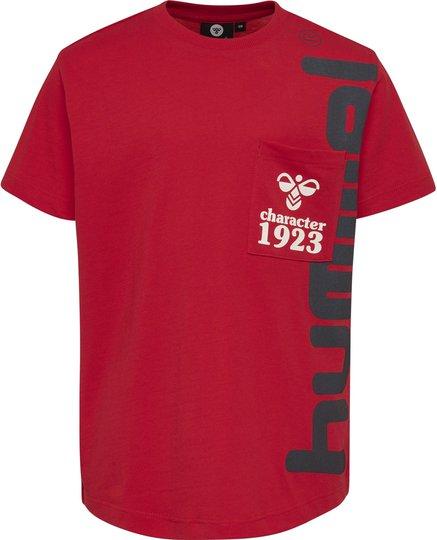 Hummel Torben T-Shirt, High Risk Red, 104