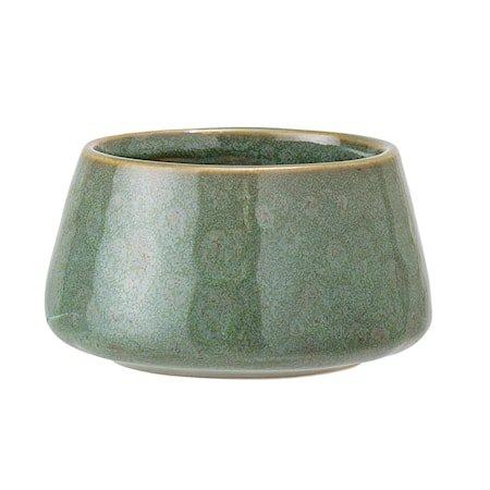 Telysholder Stone Green Ø8xH4, 5 cm