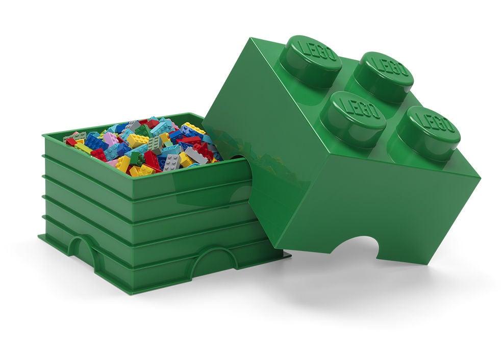 LEGO Säilytyslaatikko 4, Vihreä