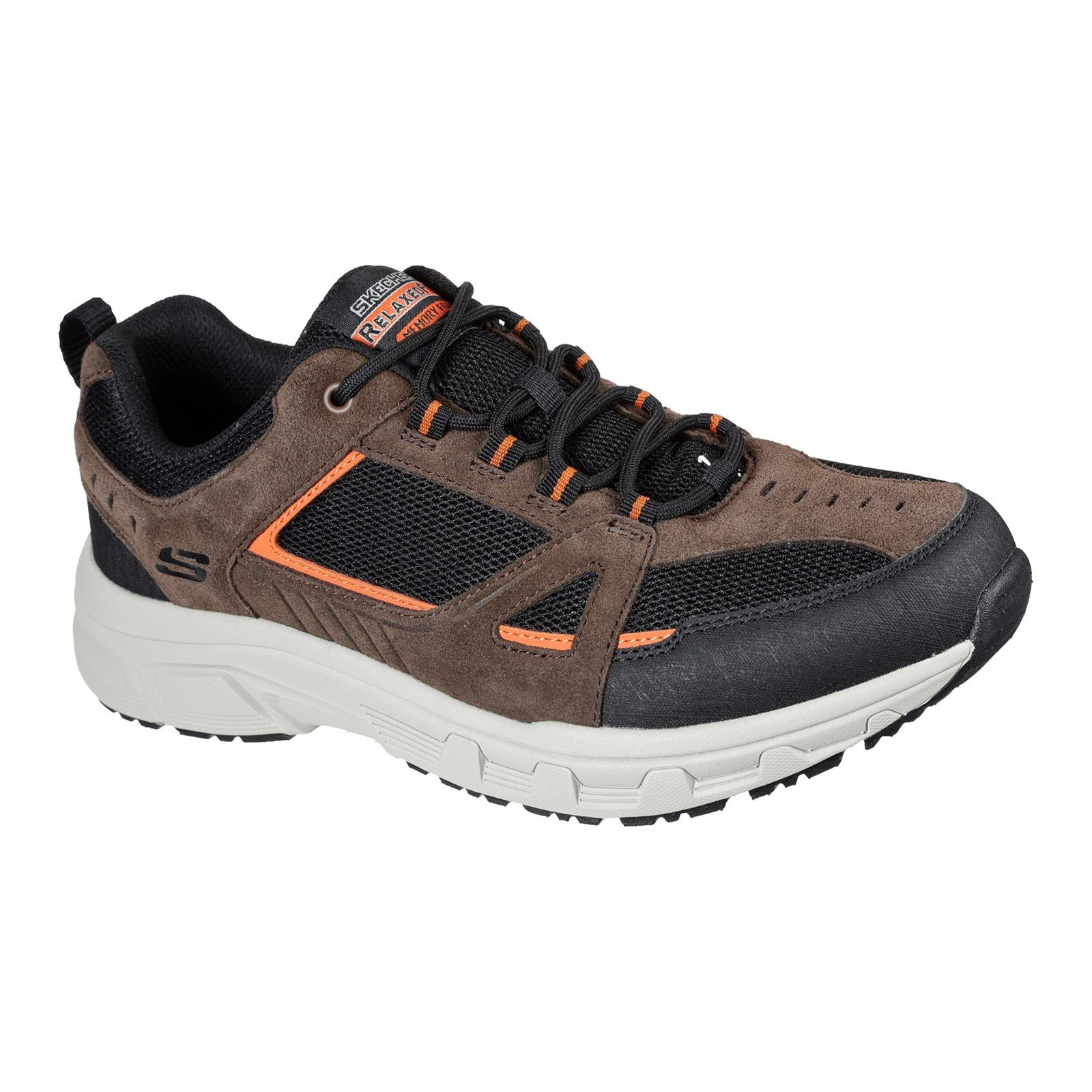 Skechers Men's Oak Canyon Duelist Trainer Various Colours 32187 - Chocolate/Black 10