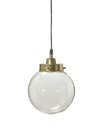 Taklampe Normandy messing