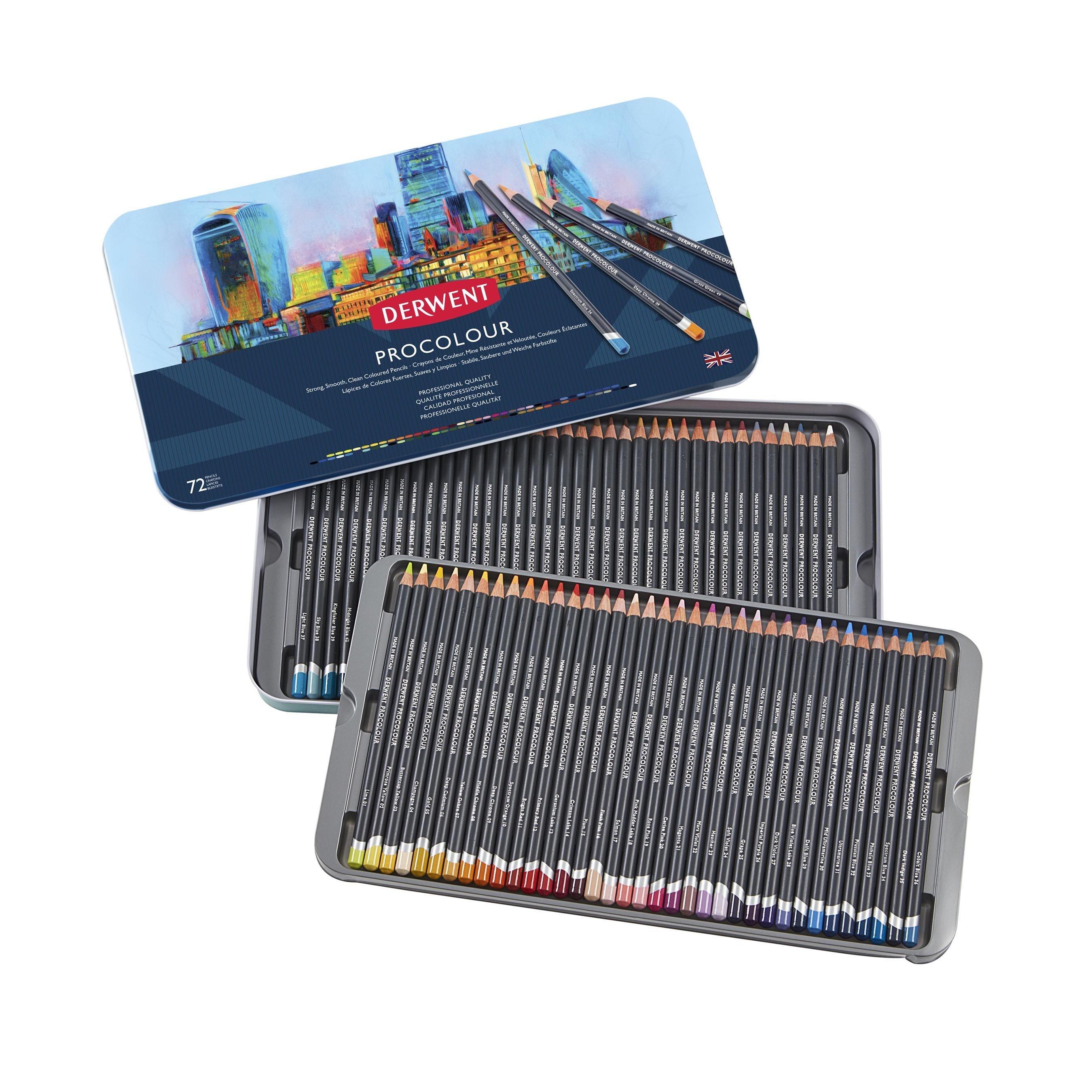 Derwent - Procolour Pencils, 72 Tin
