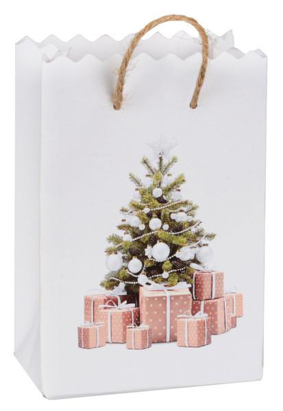 Gåvopåsar med Julgran Vit 6-pack