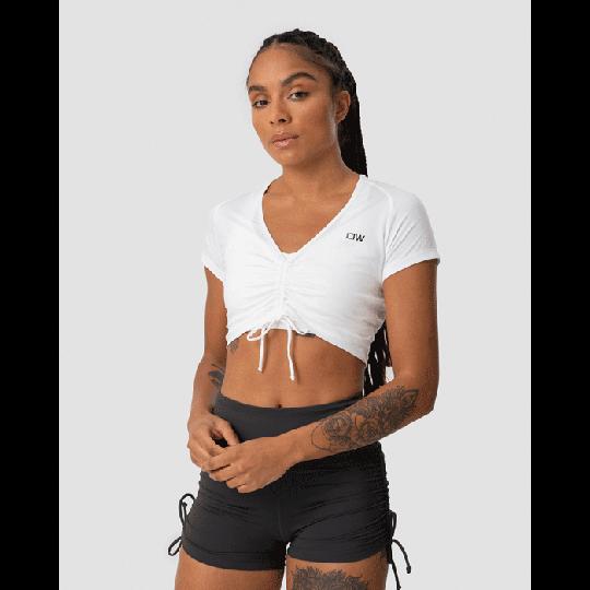 Scrunch T-shirt, White