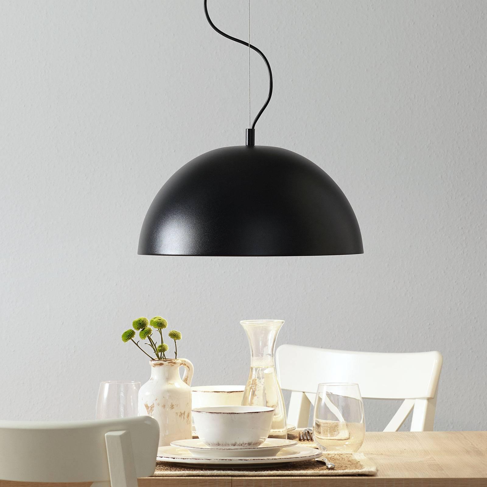 Lucande Phelan -riippuvalaisin 40 cm musta/kulta