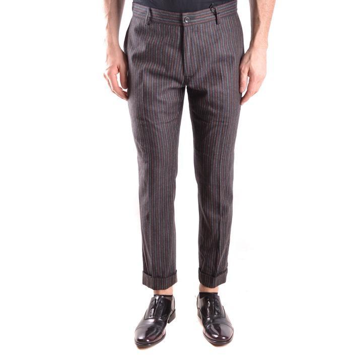 Daniele Alessandrini Men's Trouser Grey 163118 - grey 46
