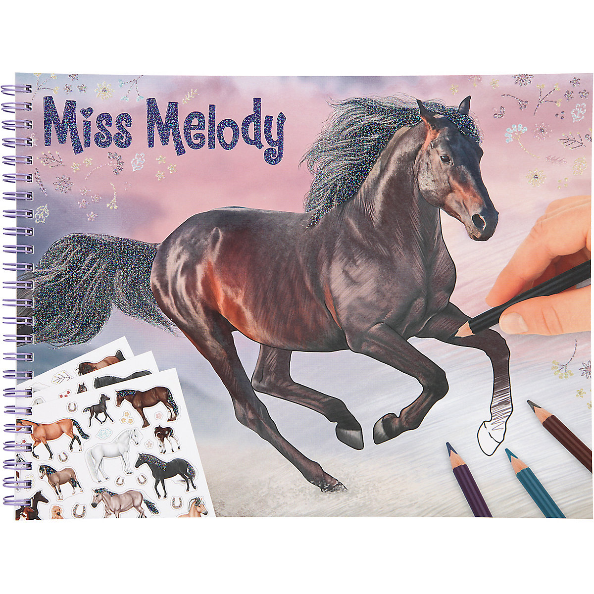 Miss Melody - Colouring Book (0411458)