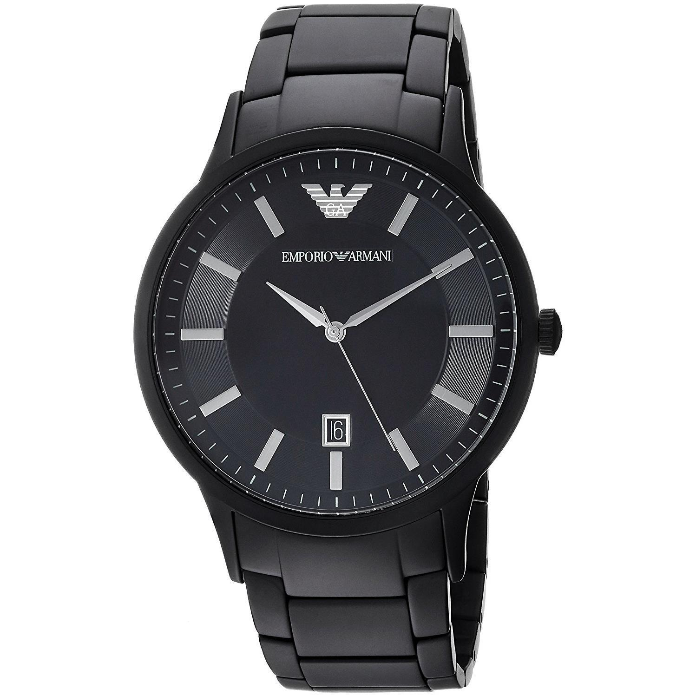 Emporio Armani Men's Renato Watch Black AR11079