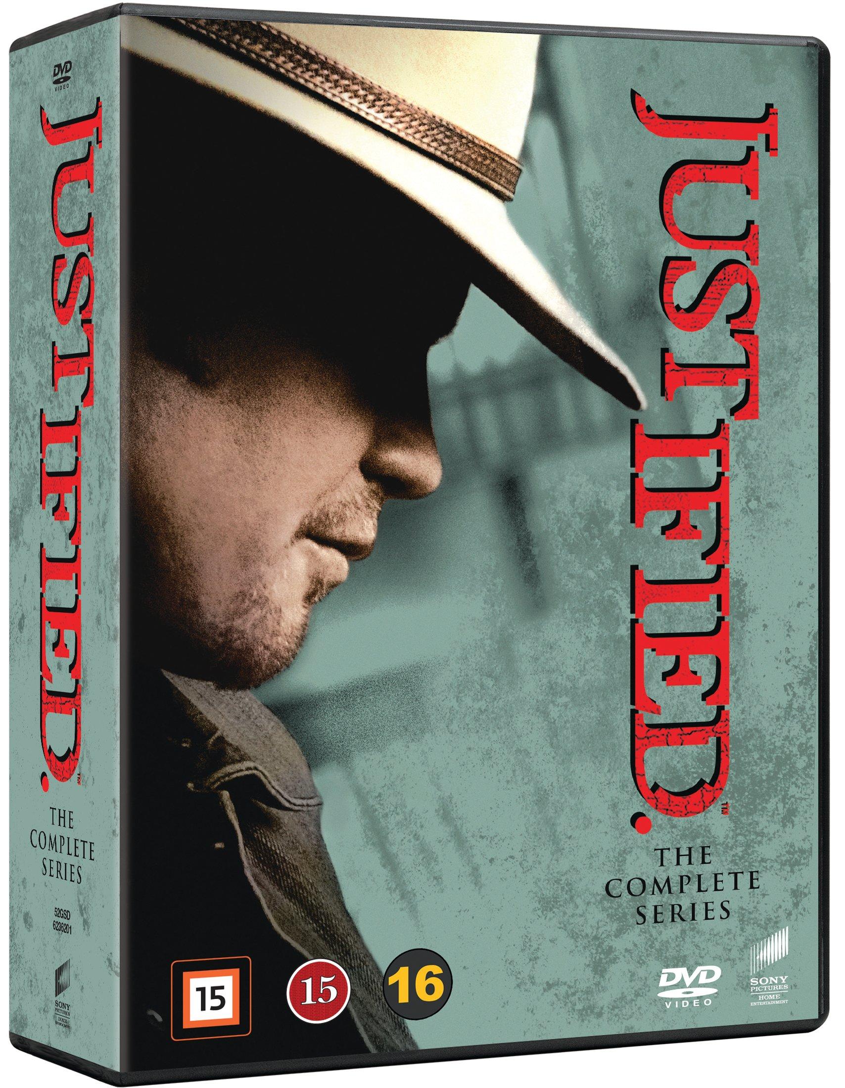 Justified: Complete Box - Season 1-6 (18 disc) - DVD