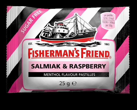Fishermans Friend Salmiak & Raspberry 25g