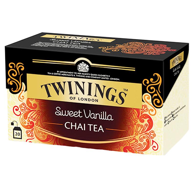 Svart Te Sweet Vanilla Chai 20-pack - 28% rabatt