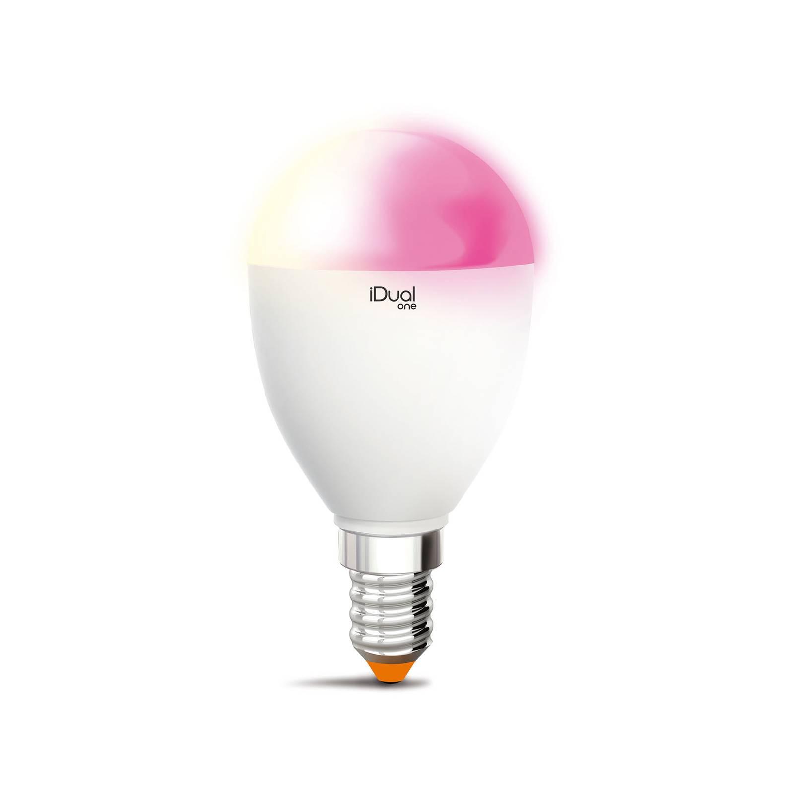 iDual One -LED-kynttilälamppu E14 5,3W 400 lm RGBW