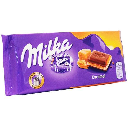 Mjölkchoklad Karamel 100g - 23% rabatt
