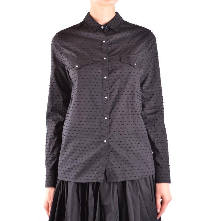 Jacob Cohen Women's Shirt Black 162445 - black S
