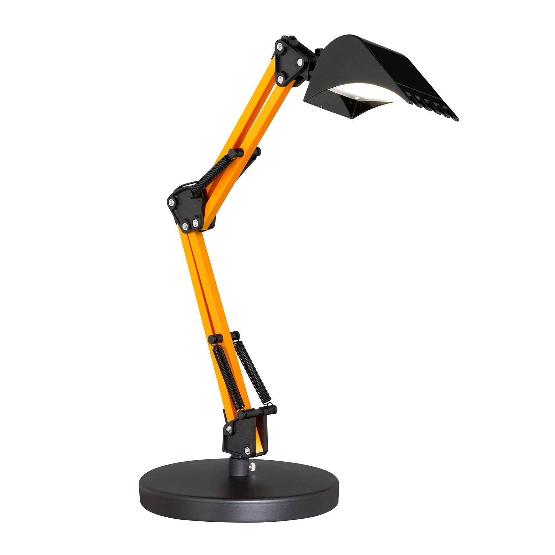 LED-bordlampe Scoop med fargetemperaturveksler