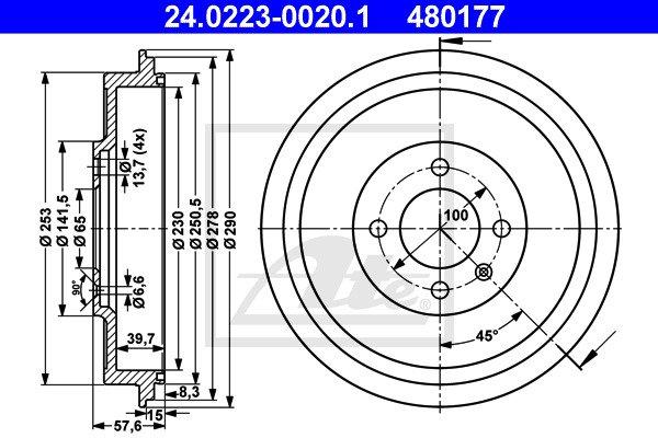 Jarrurumpu ATE 24.0223-0020.1