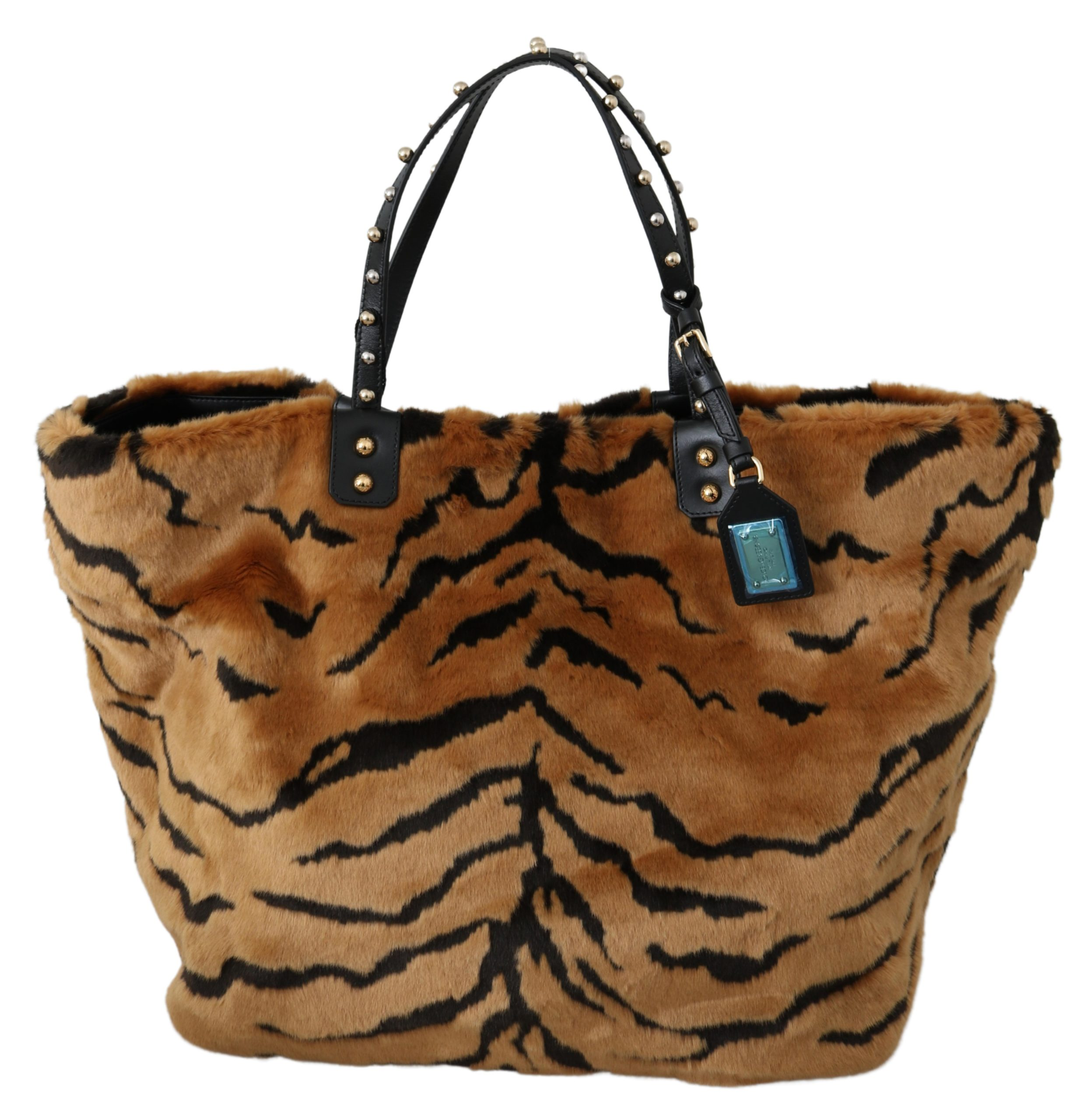 Dolce & Gabbana Women's Tiger Beatrice Tote Bag Brown VAS9607