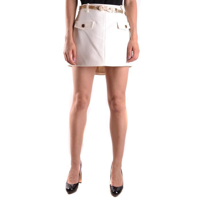 Elisabetta Franchi Women's Skirt White 161221 - white 44