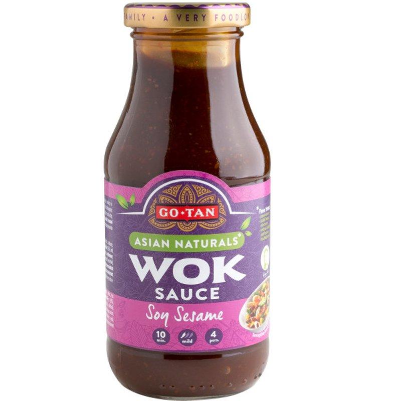 "Wok-kastike ""Soy Sesame"" 240ml - 48% alennus"