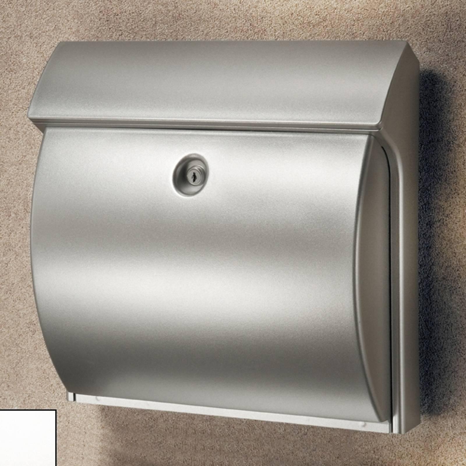 CLASSICO muovinen postilaatikko, hopea