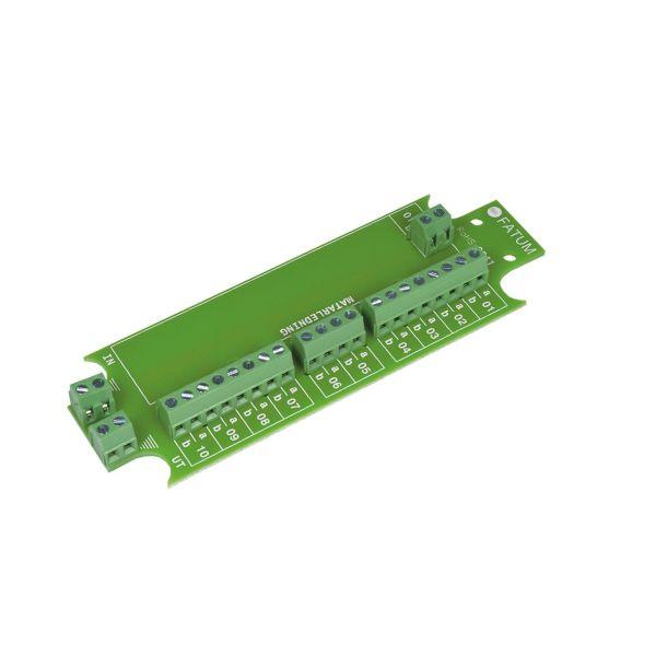 Alarmtech 3041.03 Bøyingsklemme 116 x 40 mm, 1–10 par