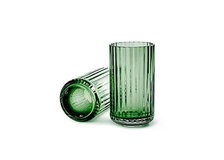 Lyngby Vas Copenhagen Green Munblåst Glas H31 cm