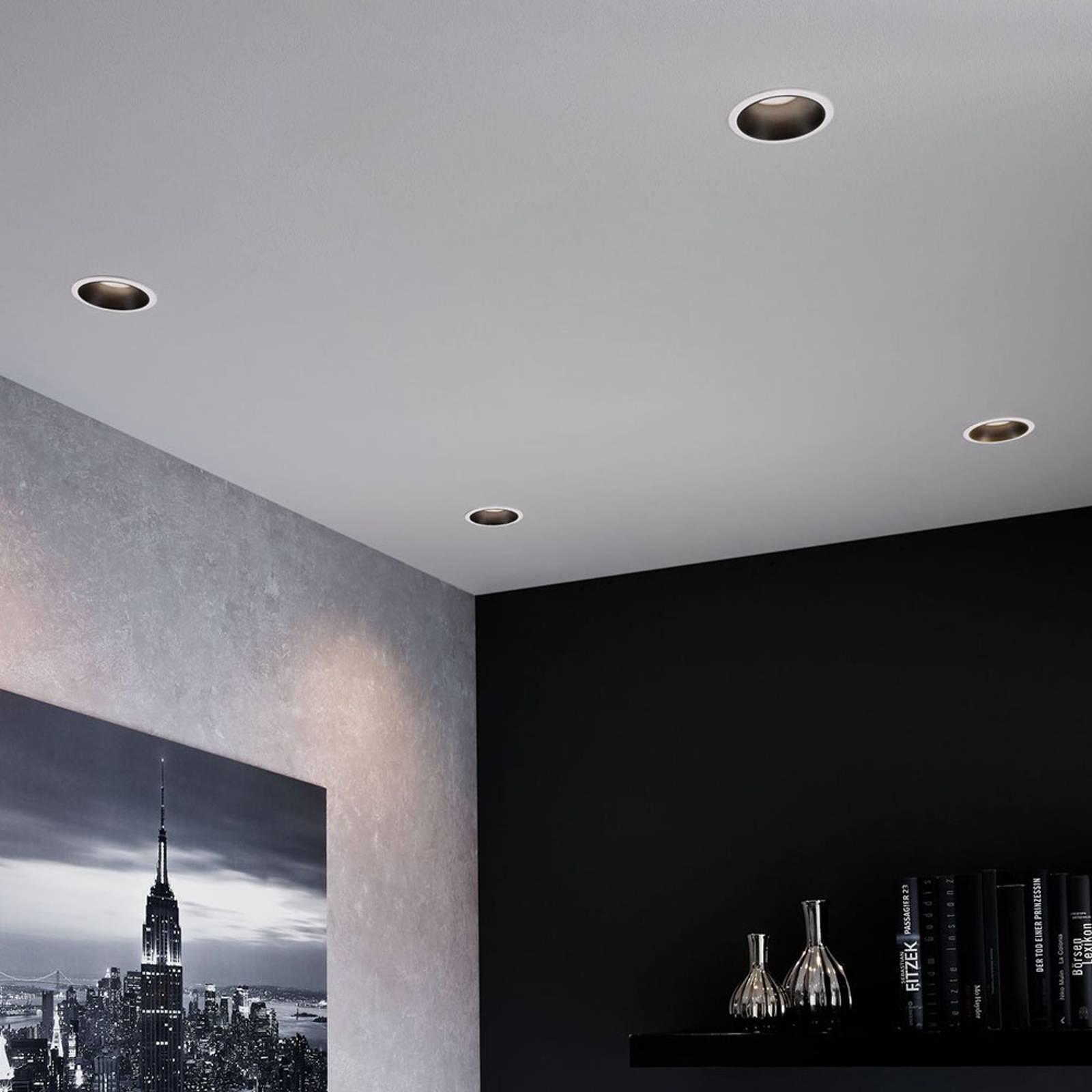 Paulmann Cole Spotlight GU10, valkoinen/musta