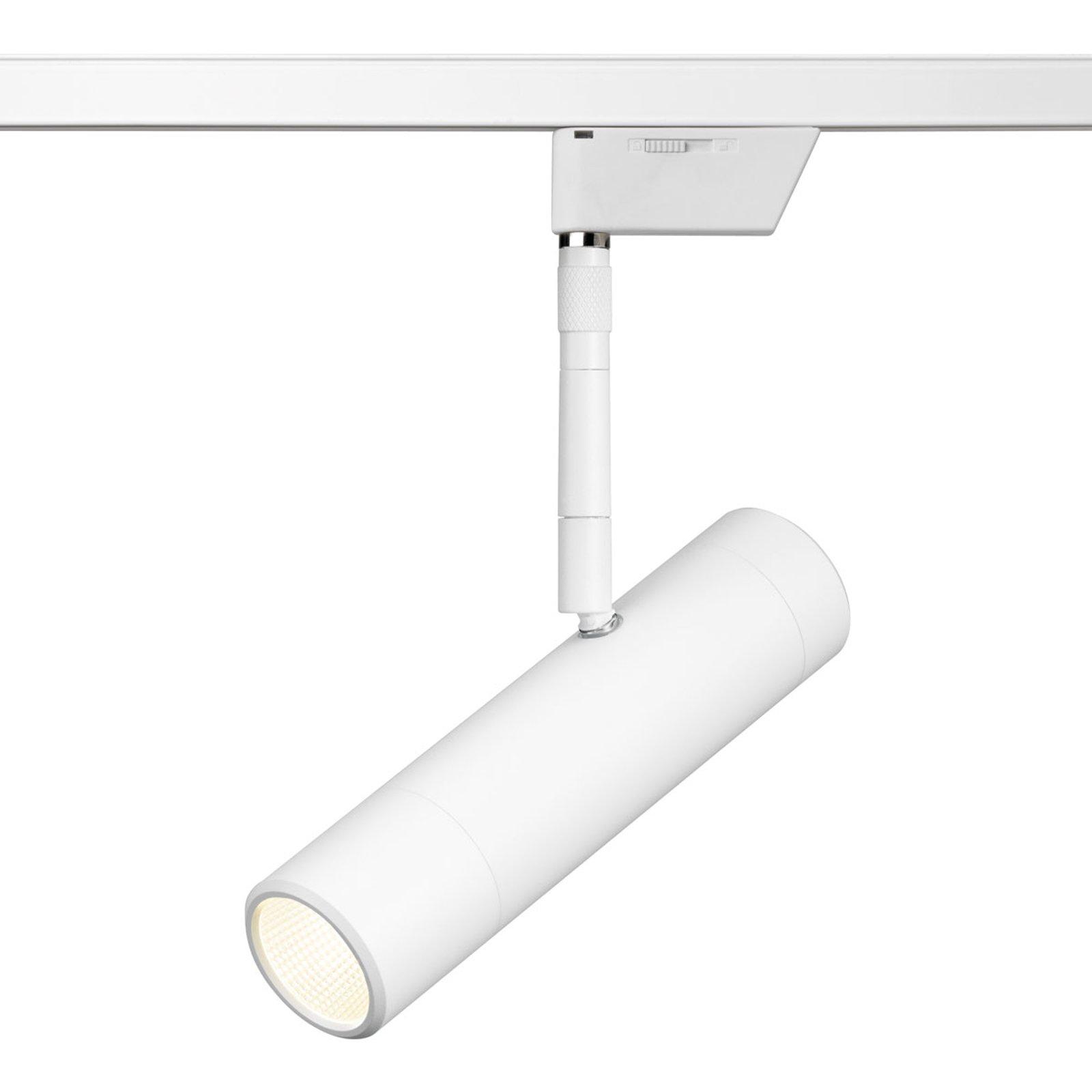Oligo Sentry LED-skinnespot hvit matt 2 700 K