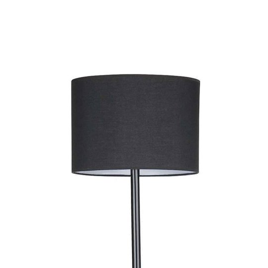 Imponerende Black gulvlampe