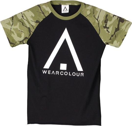 Wearcolour Rag T-Shirt, Black 120