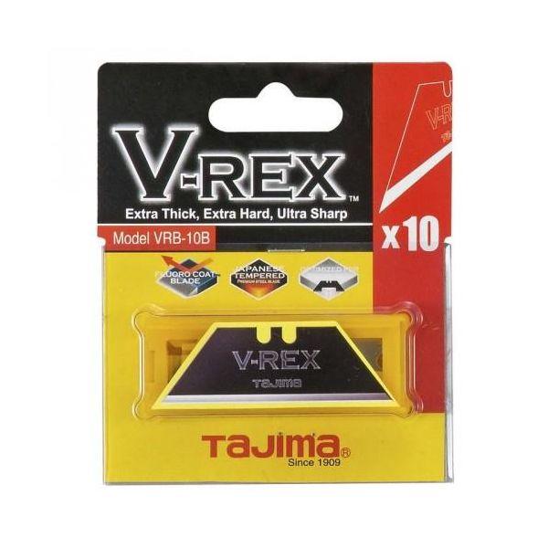 Tajima V-REX Veitsiterä 10 kpl:n pakkaus