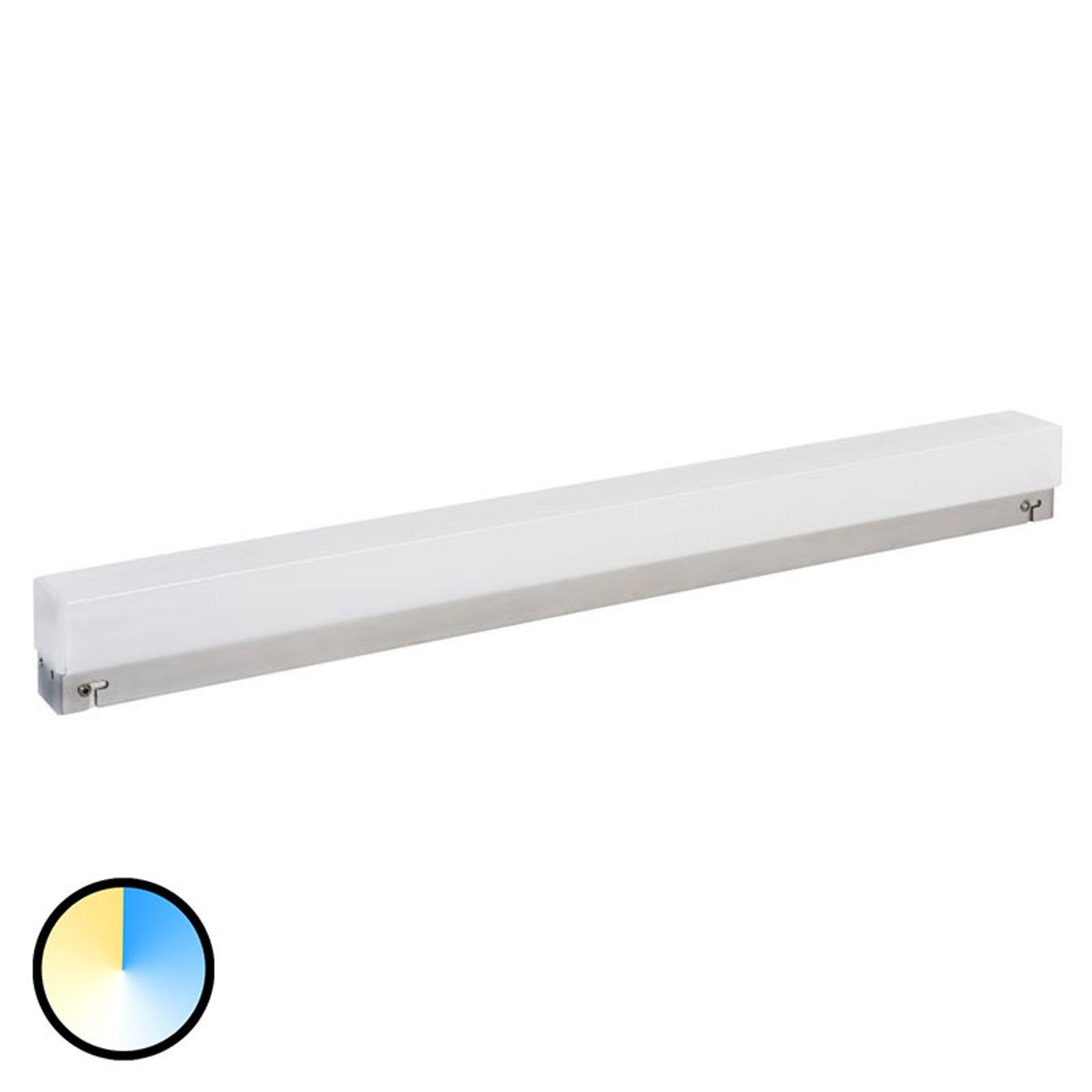 Mirror Light Switch Tone speillampe 60cm sølv