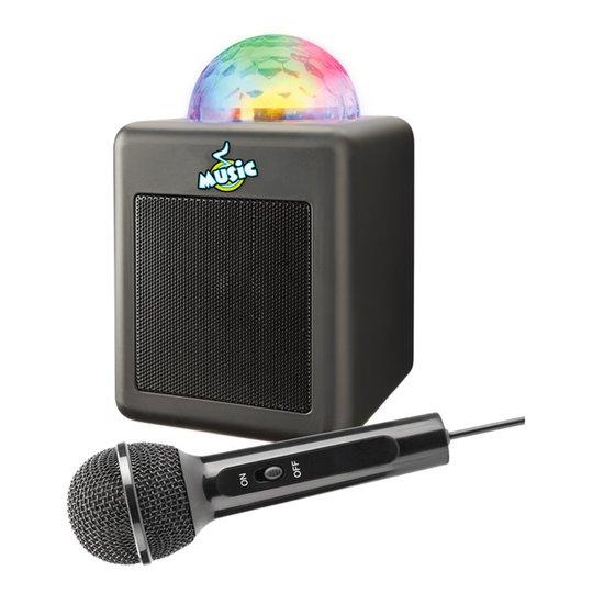 Mini Karaoke Discohögtalare & Mikrofon