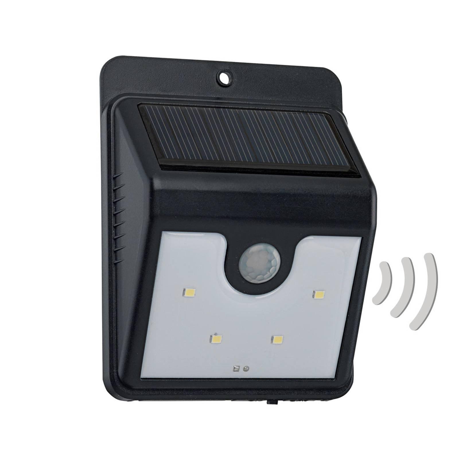 Solcelledrevet, LED-vegglampe Argon med sensor