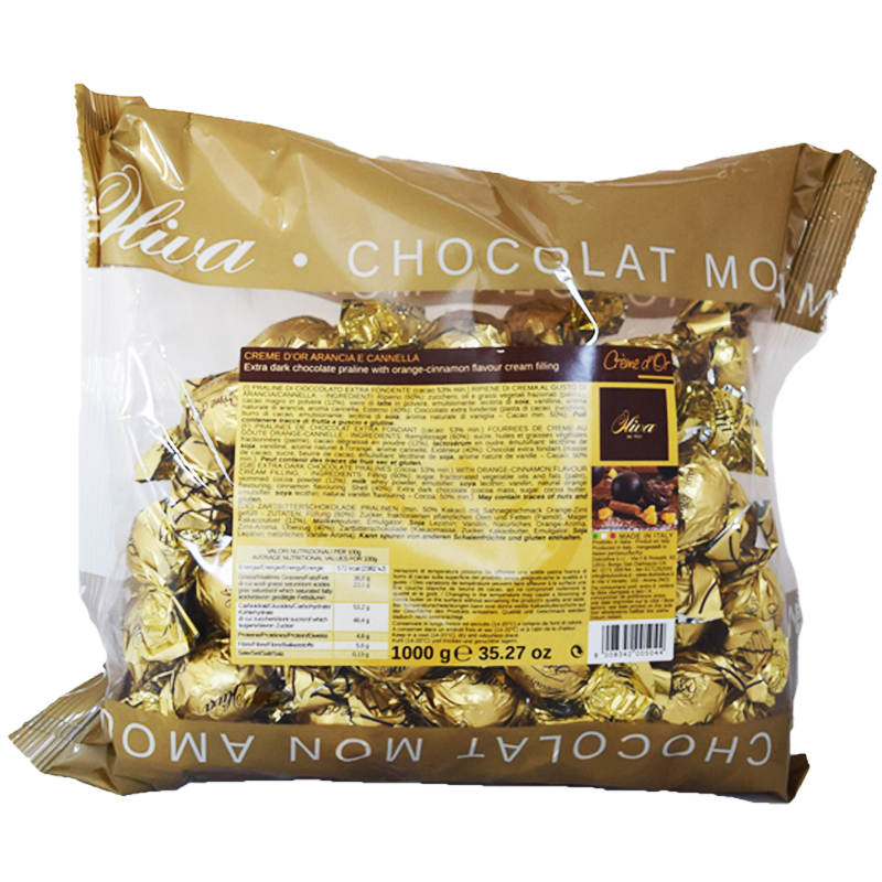 Chokladpraliner Kanel & Apelsinsmak 1kg - 58% rabatt