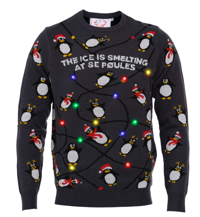 The Penguins Christmas Sweater - XS