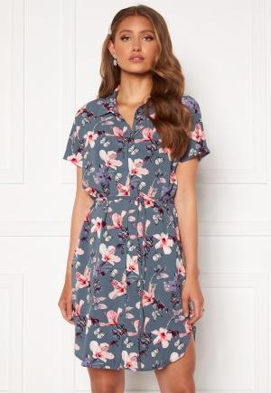 ONLY Nova Lux S/S Shirt Dress Vintage Indigo 34