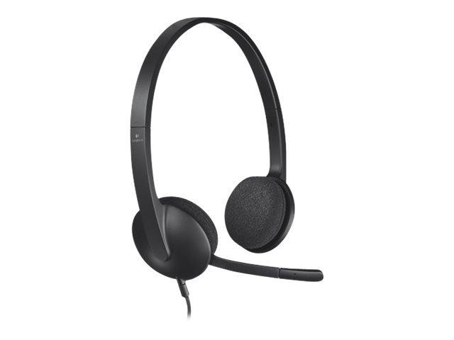 Logitech - USB Headset H340