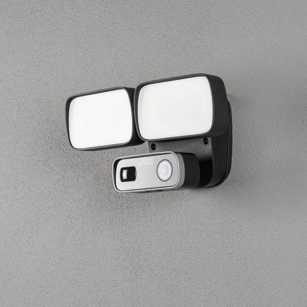 Konstsmide Smartlight Veggarmatur 24 W, kamera, høyttaler og mikrofon